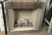 Astria Polaris 36 Lp, Vent Free, Outdoor Fireplace 36zep Stainless Steel