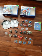 Disney Infinity 2.0 Xbox 360 Starter Packs, W/2.0 And 3.0 Character Lot
