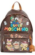 Moschino X Nintendo Super Mario Brothers Backpack Dead Stock I Have The Only One