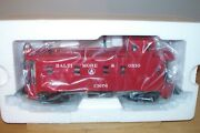 Mth Train 20-91124 Baltimore And Ohio Offset Steel Caboose