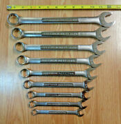 Usa Made Craftsman Industrial - Wrench Set Sae Inch Combination Standard New 9pc