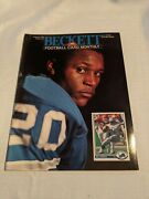 August 1991 Beckett Football Monthly Barry Sanders Issue 17 Derrick Thomas Back