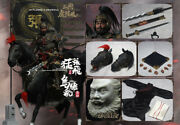 16 In Flames Ift-039 Generals Zhang Yide And The Wuzhui Horse Figure Model Gifts