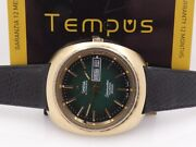 Omega Seamaster Cosmic 2000 Jumbo 39mm 166.133 Gold 18 Kt G.f. 1970s Menand039s Watch