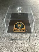 Land O Lakes Deli Cheese Plastic Case Indian Maiden Princess Discontinued Logo