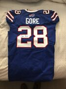 Frank Gore Signed/autographed Nfl Team Issued Jersey Psa Buffalo Bills