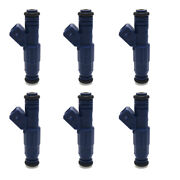 Fuel Injectors 650cc For Bmw M3 M5 Z4 Ford Mustang V6 Turbo 60lb High Ohms 6