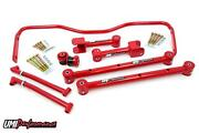 Umi 68-72 Gm A-body Chevelle Rear Upper And Lower Control Arm Kit W/ Sway Bar