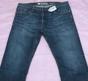 Levi Strauss Signature Straight Fit Jean Pants For Men- W38 X L30. Tag No. B345