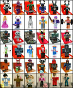 Roblox And Roblox Celebrity Blind Mystery Figure Series 1 2 3 4 5 6 7 8 With Code