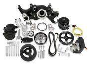 Holley Black Mid-mount Complete Accessory System 20-185bk