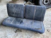 1964 1963 Ford Galaxie 500 Fastback Convertible 2dr Front Bench Seat With Track