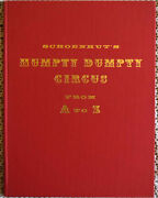 Evelyn Ackerman Schoenhut's Humpty Dumpty Circus From A To Z Hard Cover Signed