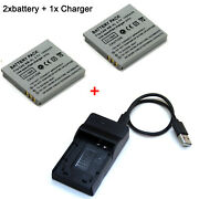 Battery /charger For Nb-4l Canon Powershot Sd450 Sd600 Sd630 Sd750 Sd780 Is Elph