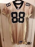 Ultra Rare Gold Jeremy Shockey New Orleans Saints Game Issue Reebok Jersey