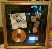 Beatles Revolver Gold Plated Record Display