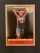 2013-14 Hoops Giannis Antetokounmpo 275 Gold Rc Superstar 2x Mvp And Min Psa 9