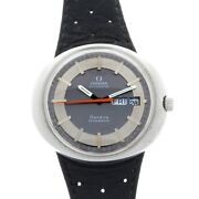 Vintage Omega Gents Dynamic The Rarer Automatic Day Date 1970and039s Watch