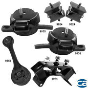 Engine Mounts And Auto Trans. Mount 6pcs Set For Subaru Legacy 00-04 4 Stud