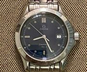 Omega Seamaster 120m Antique Analog Round Stainless Steel Menand039s Watch