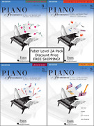 Faber Piano Adventures Level 2a - Pack Set Lesson/theory/perf/technique Nice