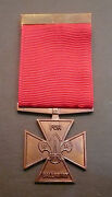 Scouts Of Belize - Scout Leader / Commissioner Bronze Cross For Gallantry Medal