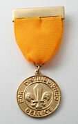 Scouts Of Albania - Scout Leader Commissioner Distinguished Service Gold Medal