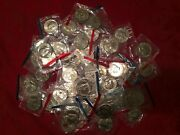 Kennedy Half Dollars In Mint Cello Bu Set 52 Coins 1971-1999 P And D Mints