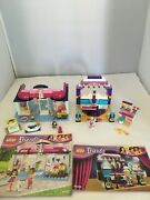 Lego 41004 Rehearsal Stage And 41007 Pet Salon 98 Complete.m