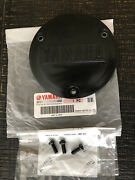 Oem Clutch Cover Round Insert And 3 Bolts For Yamaha Banshee 1987-2006