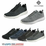 Dream Pairs Mens Sneaker Mesh Casual Shoes Lightweight Running Walking Shoes