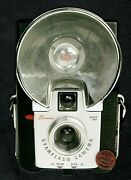Old Fashioned Camera With Flash Lens - Large Blank Greeting Card W/ Tracking