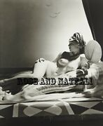 Model Fine Art Pin Up Cleopatra Collectible Photograph