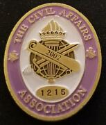 Us Army Civil Affairs Association Challenge Coin Number 1215