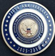 Us Office Of The Director Of National Intelligence 5th Anniversary Challenge Coi