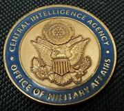 Rare Authentic Central Intelligence Agency Cia Office Of Military Affairs Challe