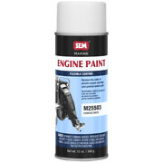 Sem M25503 Evinrude White Outboard Engine Paint