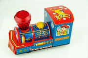 Vintage Japan Modern Toys 6 Tin Litho Western Cowboys And Indians Friction Train