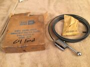 Nos 1964 1965 1966 Ford Automatic Trunk Release Galaxie Falcon Fairlane Mustang