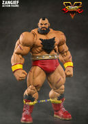 Storm Collectibles Zangief Action Figure Street Fighter 30th Anniversary Toys