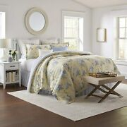 Laura Ashley Home   Maybelle Collection   Luxury Ultra Soft Comforter All Seaso