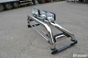 Roll Bar For Mitsubishi L200 2019+ Polished Stainless Steel Sport Light Bar 4x4