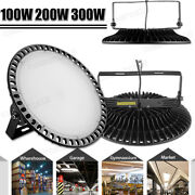 300w 100w Ufo Led High Bay Light Gym Factory Warehouse Industrial Shed Lighting