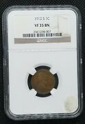 1912-s Lincoln Wheat Cent   Ngc Vf 35