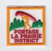 Scouts Of Canada - Canadian Scout Manitoba Portage La Prairie District Patch
