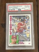 Bryce Harper 2012 Topps Archives Rookie Auto Psa 10