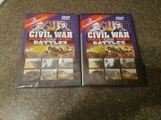 Civil War Battles The Union Restored And The Terrible Swift Sword Dvds New