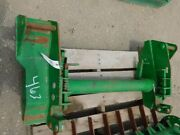 John Deere Loader Quick Attach Adapter Plate Tag 463
