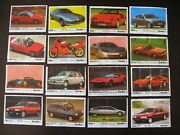 Vintage Bubble Chewing Gum Wrappers Turbo 121-190 Third Serie  Full Set