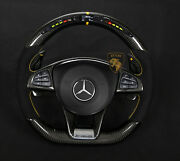 Mercedes Steering Wheel A45 W176 Carbon Led Made In Germany
